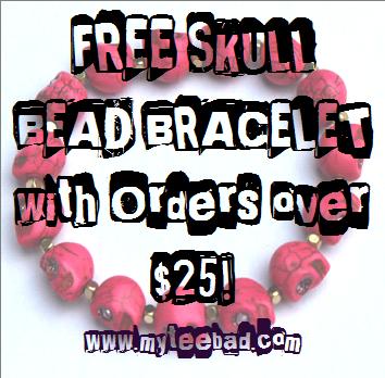 skull bead promo