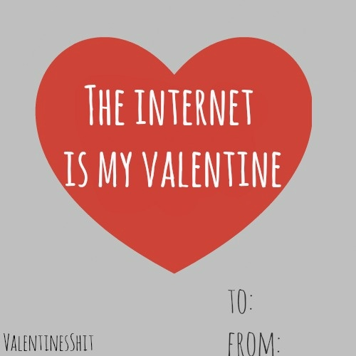 internet my valentine