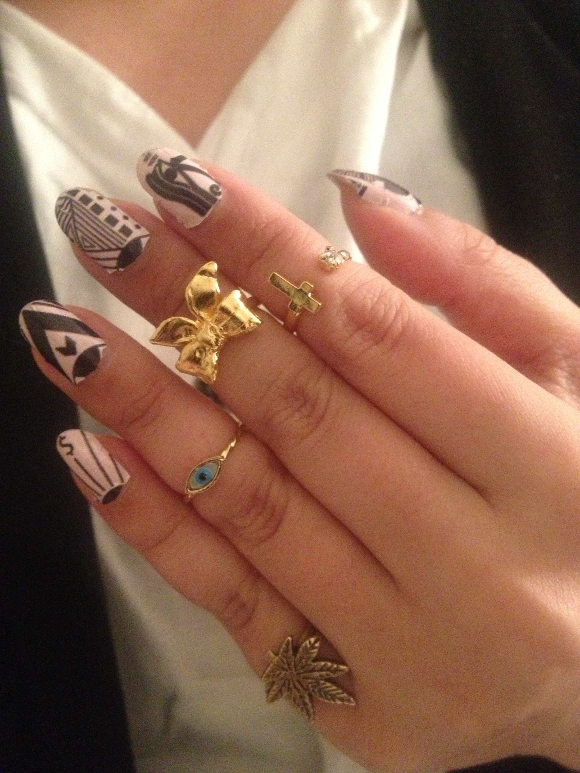 NCLA Nail Wraps Product Review   Style Me B.A.D.