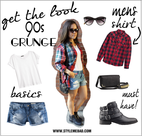 B A D Girl Style 90 S Grunge Fashion Style Me B A D