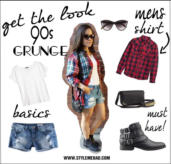 90s Black Fashion Girl: B.A.D. Girl Style: 90's Grunge Fashion