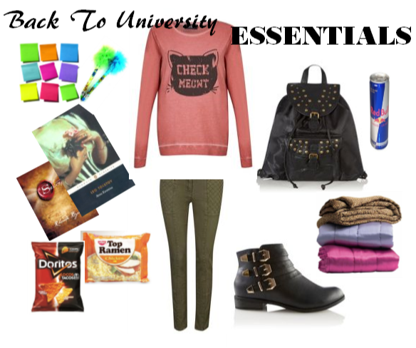 College university essentials what do you need