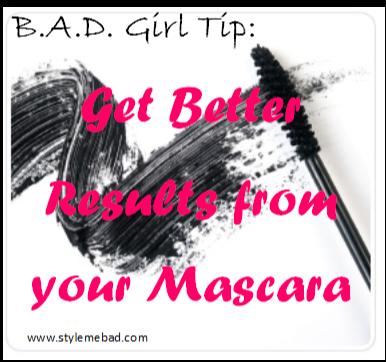 tips for wearing mascara