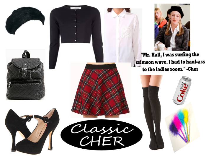 cher horowitz clueless diy costume idea  sc 1 st  Style Me BAD : cher costume ideas  - Germanpascual.Com