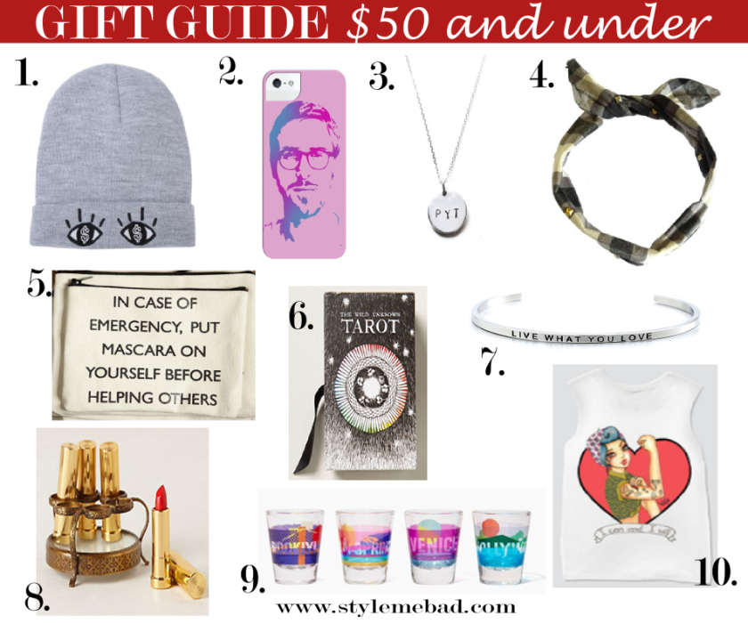 B.A.D. Girl Holiday Gift Guide 2013