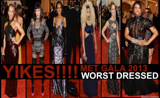 worst dressed list