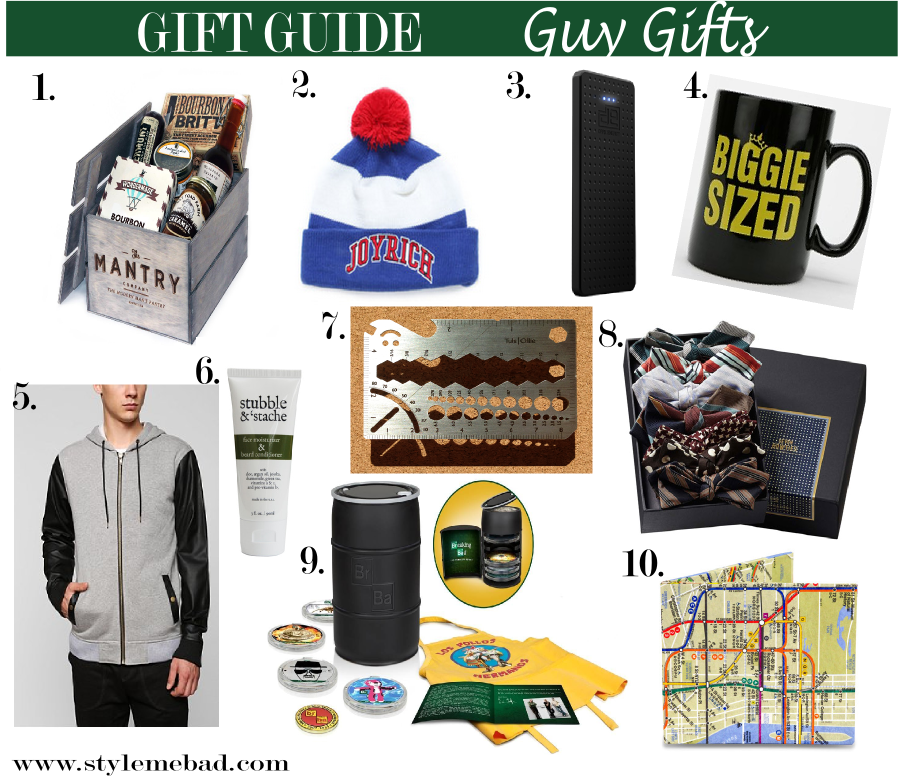 B A D Girl Holiday Gift Guide 2013 Gift Ideas For Guys