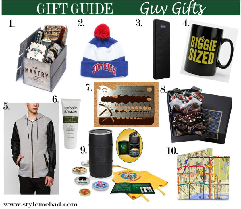 B.A.D. Girl Holiday Gift Guide for Guys