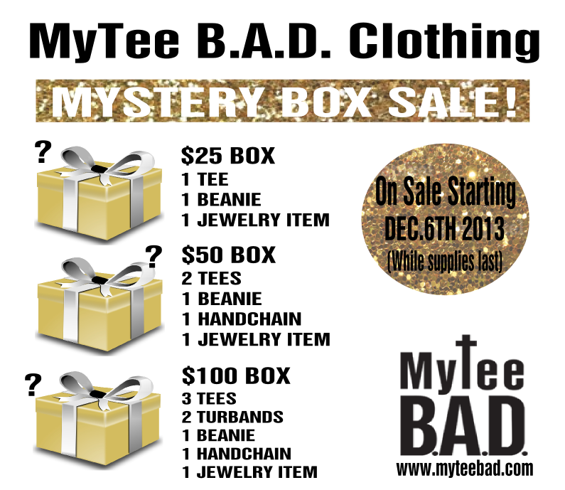 MyTee BAD  MYSTERY BOX SALE