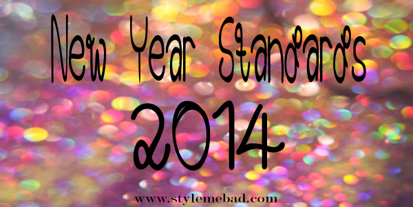 new year standards resolutions 2014