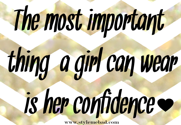 confidence quotes tips