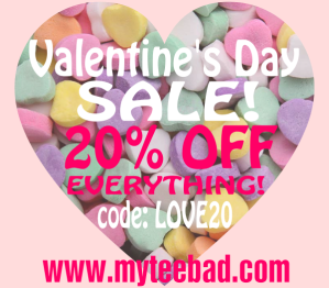 mytee bad v-day promo