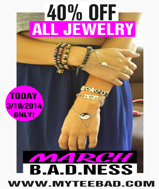 MyTee B.A.D. Jewelry