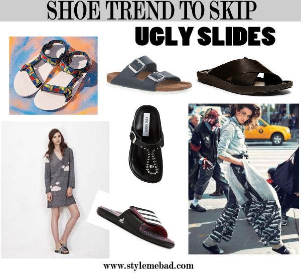 ugly spring summer 14 shoe trends