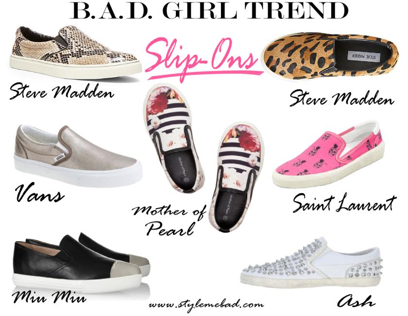 spring shoe trend slip ons