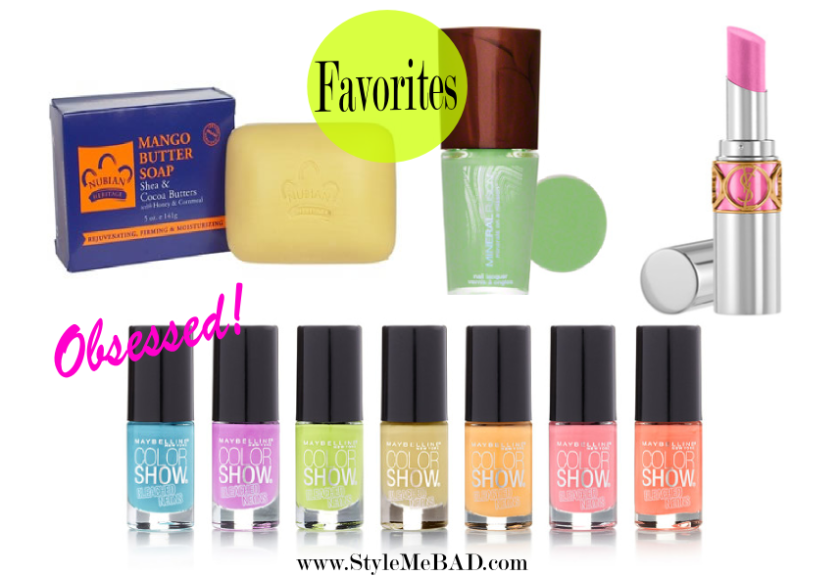 style me bad april favorites
