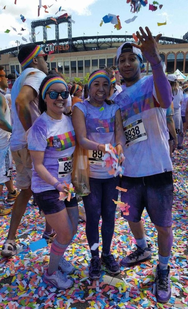 Queens New York Color Run