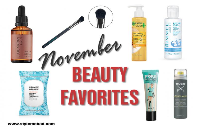 november 2015 beauty favorites