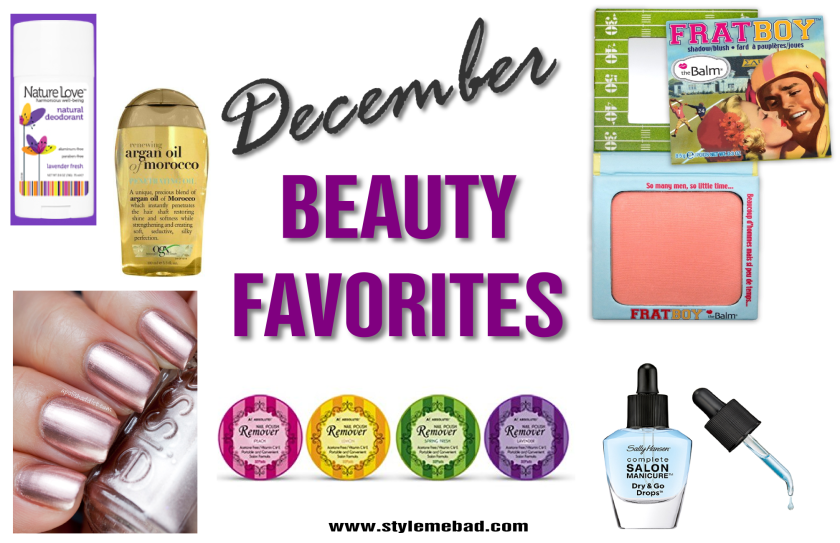 december 2015 beauty favorites